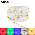 DC 12V RGB LED Strip 5050 2835 Tira LED Light Flexible Neon 0.5M 1M 2M 3M 4M 5M Fita LED Diode Tape Bande Ledstrip Stripe Ruban