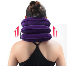 Support Cervical Medical Health Tool Office Neck Care Therapy Device For Vertebrae Inflatable Traction Home Spondylosis Stretch cervical traction device medical neck massage stretch therapeutic cervical support cervical vertebrae correction