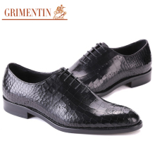 GRIMENTIN luxury high top mens dress shoes casual fashion handmade crocodile black Italian elegant male shoes wedding men flats