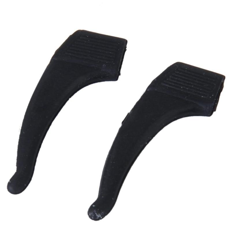 ELOS- 1 Pair Eyeglasses/Sunglasses/Spectacles Eyewear Ear Hook Lock Tip Holder---Black