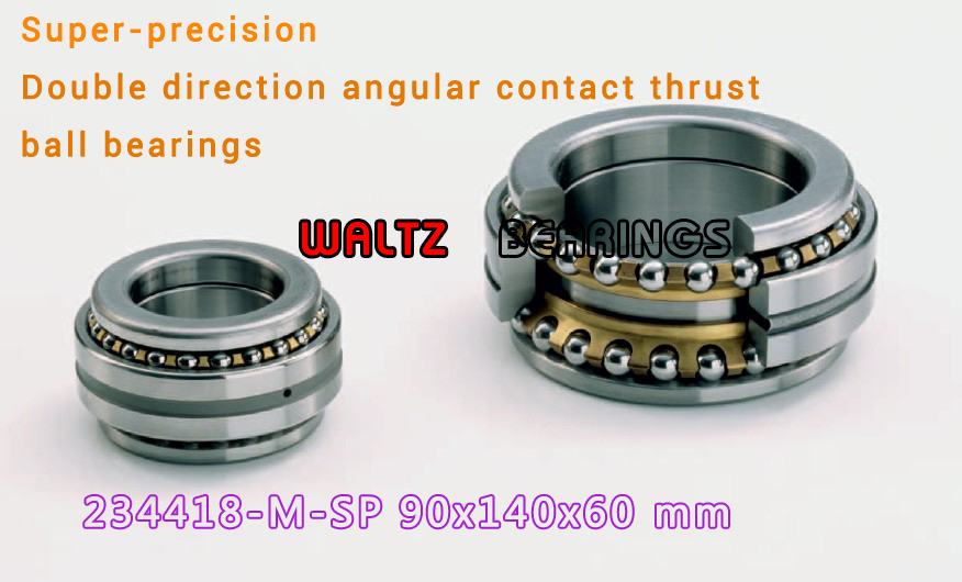 234418 M-SP BTW 90 CM/SP 562018 2268118 Double Direction Angular Contact Thrust Ball Bearings Super-precision ABEC 7 ABEC 9 1pcs 71822 71822cd p4 7822 110x140x16 mochu thin walled miniature angular contact bearings speed spindle bearings cnc abec 7