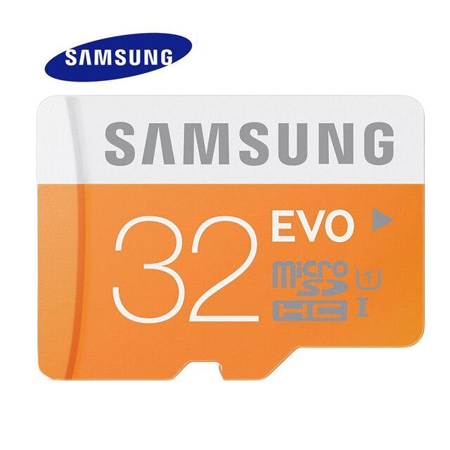 SAMSUNG 32G Micro SD Memory Card EVO C10 Max 48M/s SDHC EVO C10 32GB UHS TF Trans Flash Storage Device