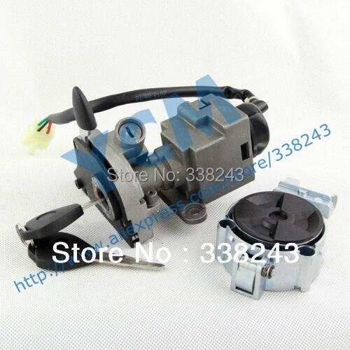 Motorcycle Scooter  Set Lock,  Key Set ,TS-GH-QZSY, Free Shipping Drop Shipping