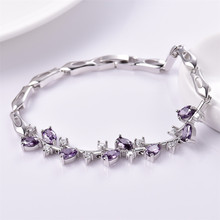 Oval Brilliant Crystal Bracelets