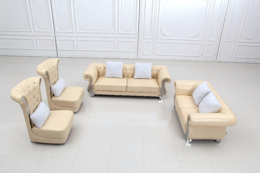 2019 Set No Rushed Modern Armchair Sectional Sofa Hot Sale Italian Style  Leather Corner Sofas For Living Room Furniture Sets