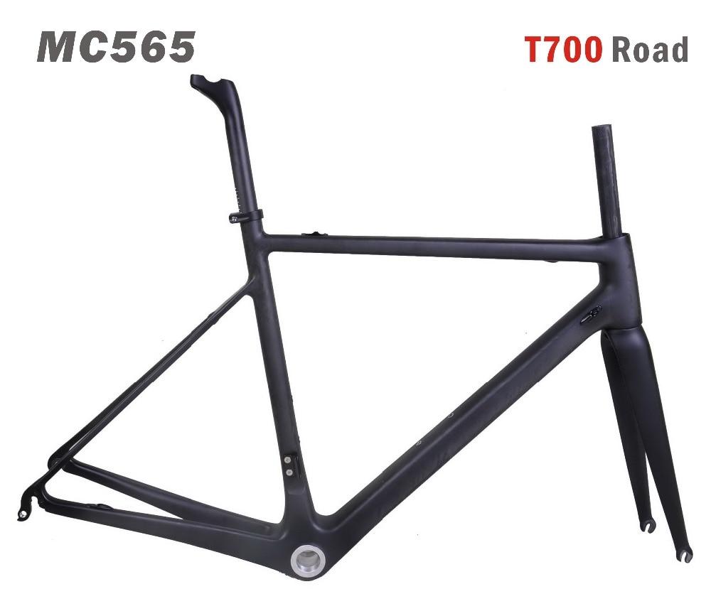 MIRACLE Bikes Toray T700 Carbon Road Frame 700x25c Carbon Fiber Road Bicycle Frame/fork/seatpost Di2&Mechanical Carbon Bikes