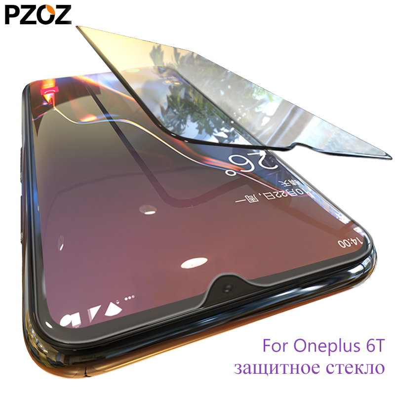 PZOZ oneplus 6t tempered glass full cover screen protector o