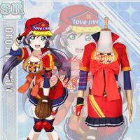 Hot Anime LoveLive! cosplay Tojo Nozomi cartoon Halloween Masquerade party cosplay Baseball clothing costume