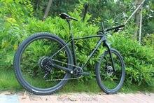 Full carbon frame mtb mountain bike cycling frame 142x12 Thru axle and 135x9 QR UD matt