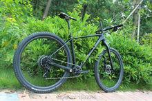 Full carbon frame mtb mountain bike cycling frame 142x12 Thru axle and 135x9 QR UD matt mtb carbon frame 29er BB92 bicycle frame