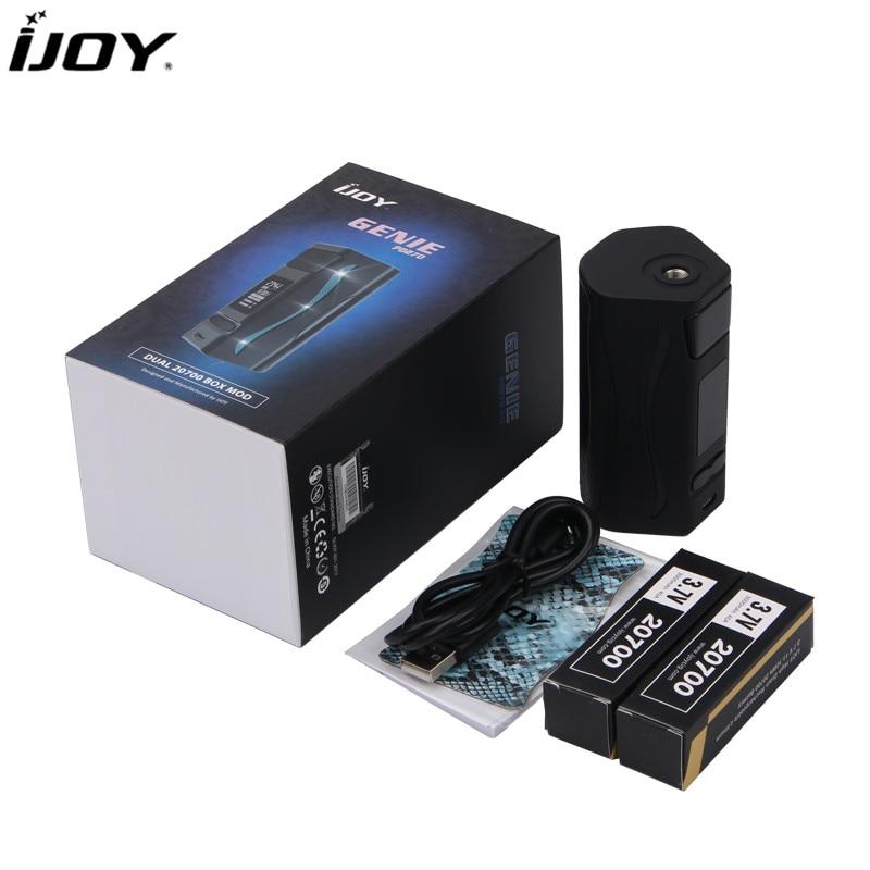 100% Original IJOY Genie PD270 234W TC Mod Powered by Dual 20700 Batteries ijoy genie pd270 tc mod with 20700 battery rgb backlight