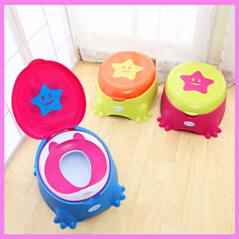 цены Colorful Baby Potty Seat Toilet Folding Child Dual-use Potties Toilet Cover for Kids Baby Toilet Trainer Seat 1-5 Years
