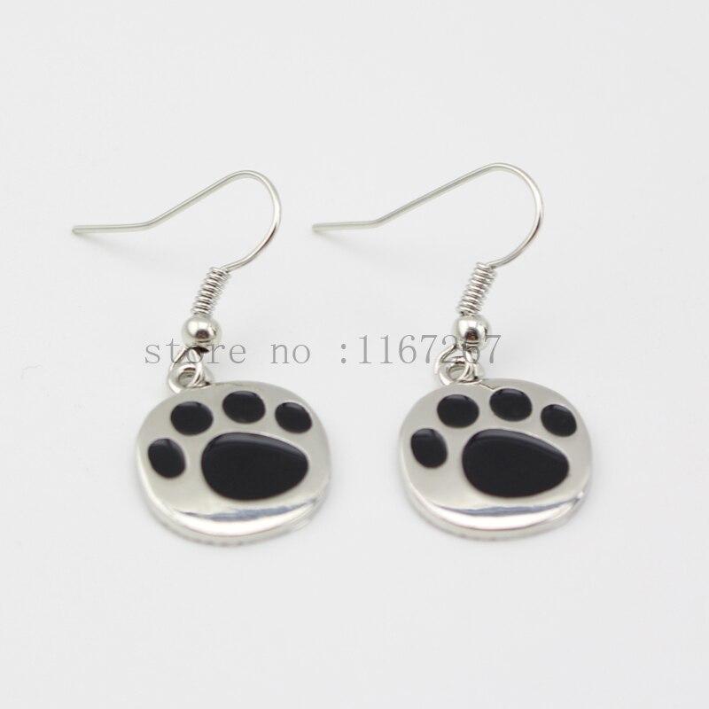 Stunning dangle tibetan silver tone 3D VW motor car wire hook earrings or handbag charm cat dog collar zipper charm