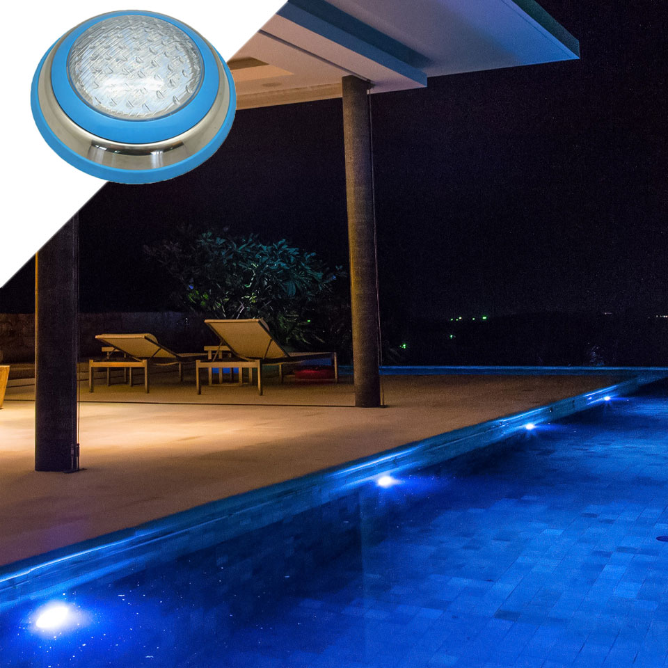 Image 5 - Underwater Lights LED Swimming Pool Light RGB Surface Mounted IP68 AC 12V Stainless Steel Fountain Lamp Spa Pond Lamps-in LED Underwater Lights from Lights & Lighting