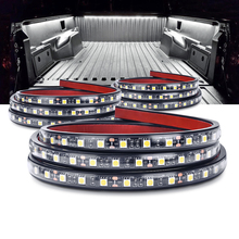 """MICTUNING 3 個 60 """"LED 防水トラックライト白照明キット装飾ランプストリップユニバーサル Rv のボート貨物ピックアップ"""