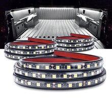 """MICTUNING Kit déclairage de lit étanche 3 pièces, 60 """"LED, Kit déclairage blanc, bandes de lampe décoratives universelles, pour bateau, camping car, ramassage de cargaison"""