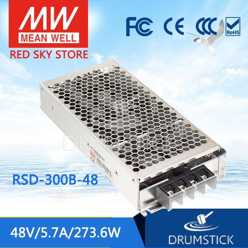 Преимущества колодца РСД-300В-48 48В 5.7 а водитель РСД-300 Вт 48В 273.6 железнодорожных один выход DC-DC преобразователь