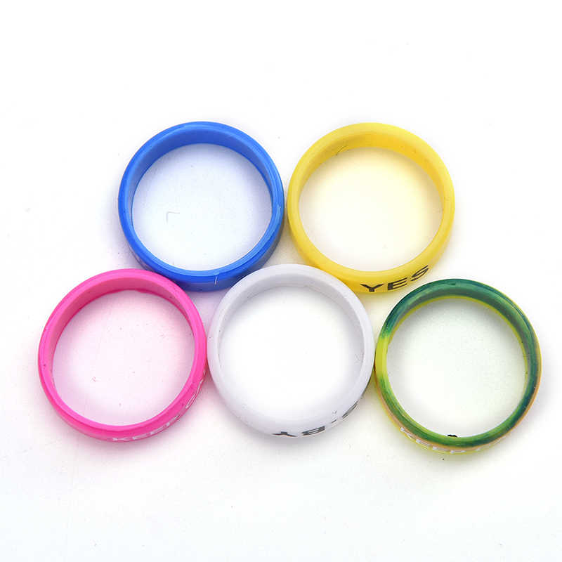 New 5 PCS Silicone Rubber Band Vape Ring For Mechanical Decorative Protection Vape
