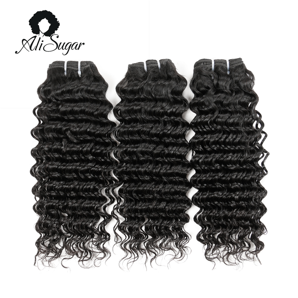 Ali Sugar Hair Malaysian Deep Wave 100 Virgin Hair Bundle Deals