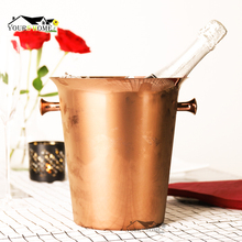 5L Ice Buckets Stainless Steel wine ice bucket Wine Chiller Bottle Cooler Champagne Beer Barrel