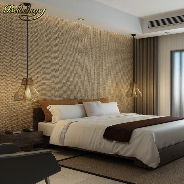 Beibehang Elegant Minimalist Blue Mediterranean Non Woven Wall Paper Shop  For Living Room Bedroom Wallpaper