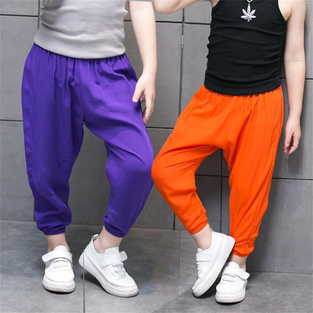 EASY BIG Heights: 80-140 CM Letnie Oddychające Słodkie Spodnie - Ubrania dziecięce - Zdjęcie 2