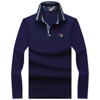 2017 New Classic Mens Polo Shirts Long Sleeve Spring Men S Shirt Brands Camisa Polo Masculina