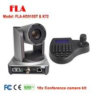 1080P60 Video Conference System Kit 10X PTZ Camera IP HDMI SDI with mini ptz intelligent controller
