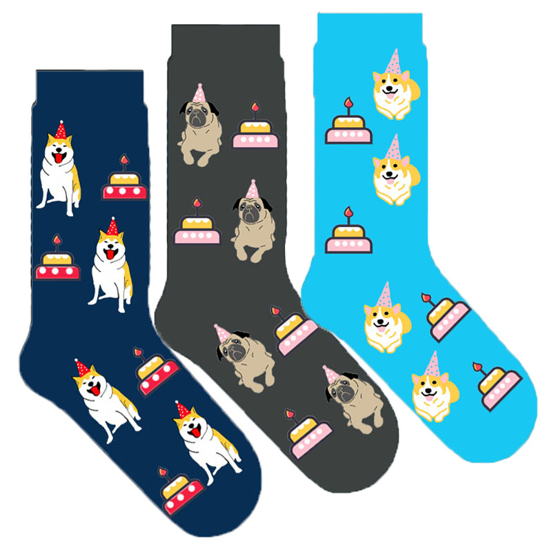 Glorious Original Shiba Inu Pug Corgi Socks Kawaii Cute Dog Socks Women Birthday Gift 20/50/100pairs Underwear & Sleepwears