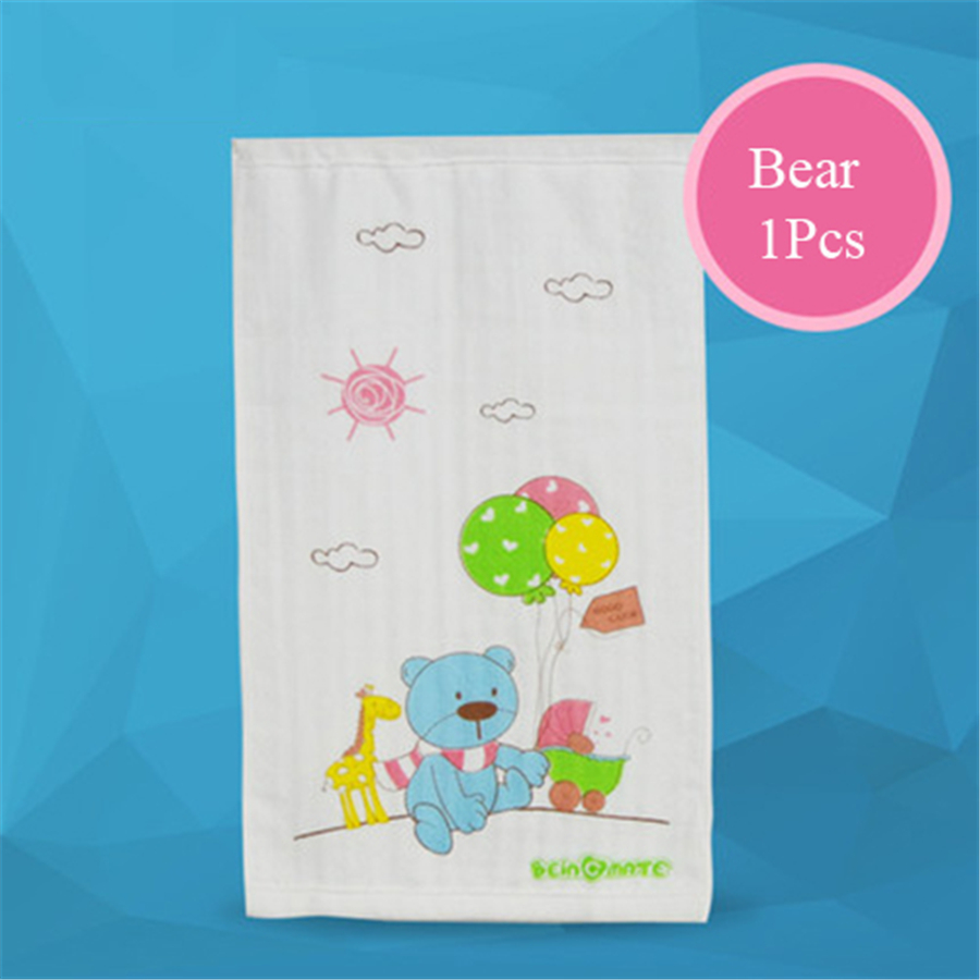 Square Bamboo Baby Towel Cartoon Washcloth Muslin Simple Soft Wipes For Newborn Stuff Baby Face Towel For Babies 80A0089