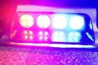 16W Car Automobile Flashing Led Warning Strobe DC12V Emergency Deck Light