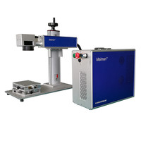 Lower Price 20W Portable 220V Input Desktop Fiber Laser Marking Machine 20W Split Fiber Laser Marking