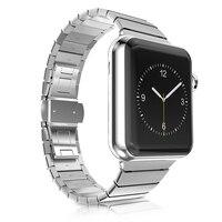 Sang trọng kim loại không gỉ strap & liên kết vòng đeo tay 316l thép không gỉ nhạc cho apple watch 42mm 38 mét watchband