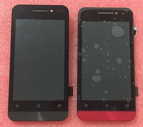 """Lcd screen display + toque digitador da tela com frame para 4.0 """"asus zenfone 4 a400cg preto/vermelho frete grátis"""
