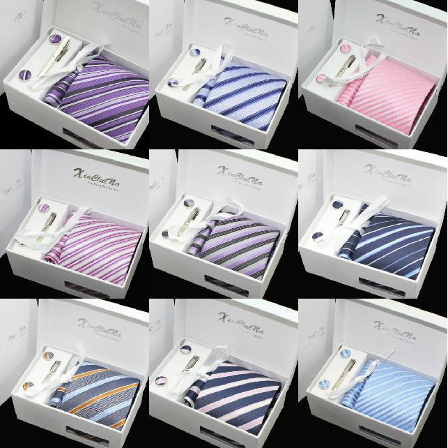 2013 Hot Selling 100% Silk Ties Gift Box Menu0027s Business Tie Necktie Fashion Plaid Stripe Ties For Men Classic Woven Neckties-in Ties u0026 Handkerchiefs from ... : necktie gift box - Aboutintivar.Com
