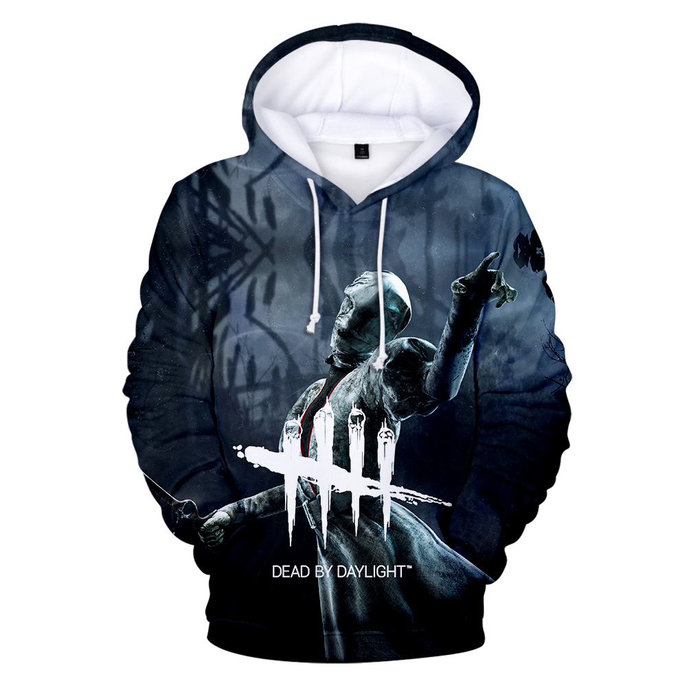 Aikooki Man Hoody Dead By Daylight 3D Print Hoodies Male Streetwear Sweatshirt Dead By Daylight High Quality Personality Hoody