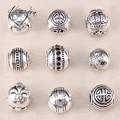 Thomas Heart, Fast Lane, Crown, Lily, Yin-yang Beads, European Original Bead Fit Karma Base Bracelet, Bijoux Jewelry Gift TS 016