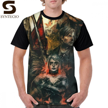 Silent Hill T Shirt 2 T-Shirt 100 Percent Polyester 6xl Graphic Tee Short-Sleeve Fun Basic Man Tshirt