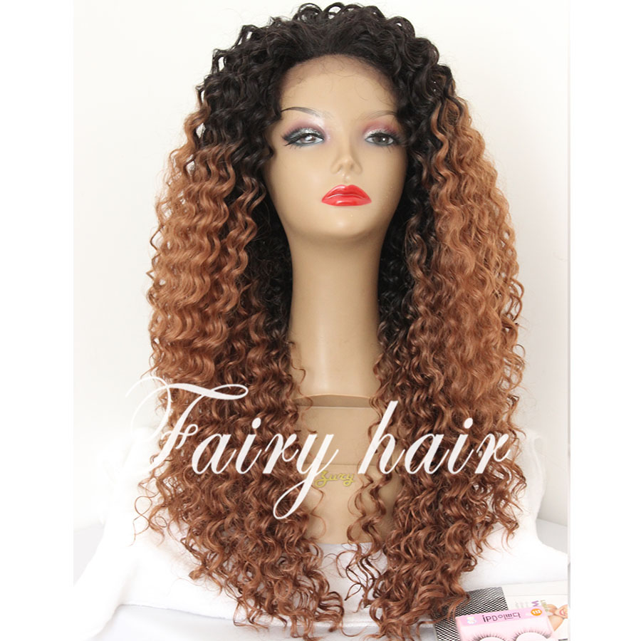 Brown Curly Wig Cheap 43