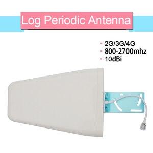Image 4 - Walokcon Tri Band Amplificador 900 1800 2100 GSM DCS WCDMA 2G 3G 4G LTE Sinal De Reforço 900/1800/2100 celular Repetidor Celular @ 1