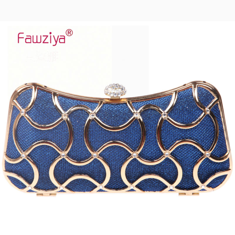 Fawziya Bridesmaid Clutch Crystal Clutch Evening Bags For Women Clutch With Handle
