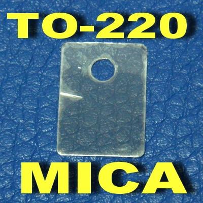 ( 1000 Pcs/lot ) TO-220 Transistor Mica Insulator,Insulation Sheet.