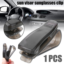 1pcs Car Sun Visor Clip Holder For Glasses Sunglasses Eyeglass Card Pen Sunglass Styling