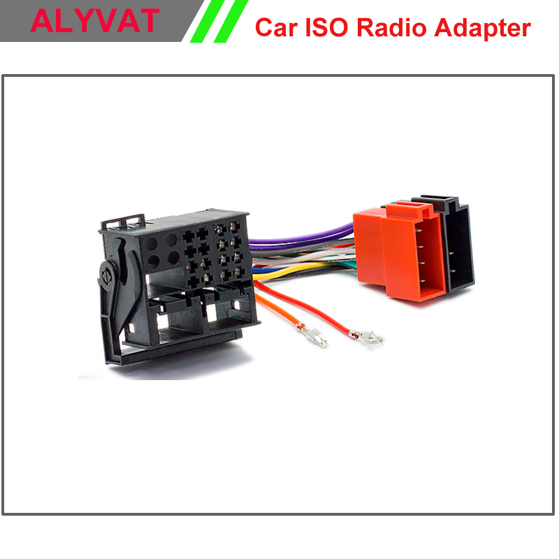 Car Iso Radio Adapter Connector For Mercedes Benz 2004