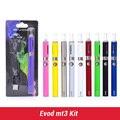 Evod mt3 Электронная Сигарета ручки вапоризатора evod mt3 starter kit 650-1100 мАч батареи мт3 в блистерной комплекте