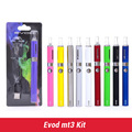 Evod mt3 Cigarrillo Electrónico pluma vaporizador evod mt3 starter kit 650-1100 mah batería mt3 blister kit