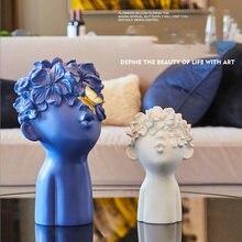 Figuritas de resina modernas en miniatura para niños, regalos de escultura, arte para el hogar, adornos para manualidades, Hotel, sala de estar, adornos de escritorio