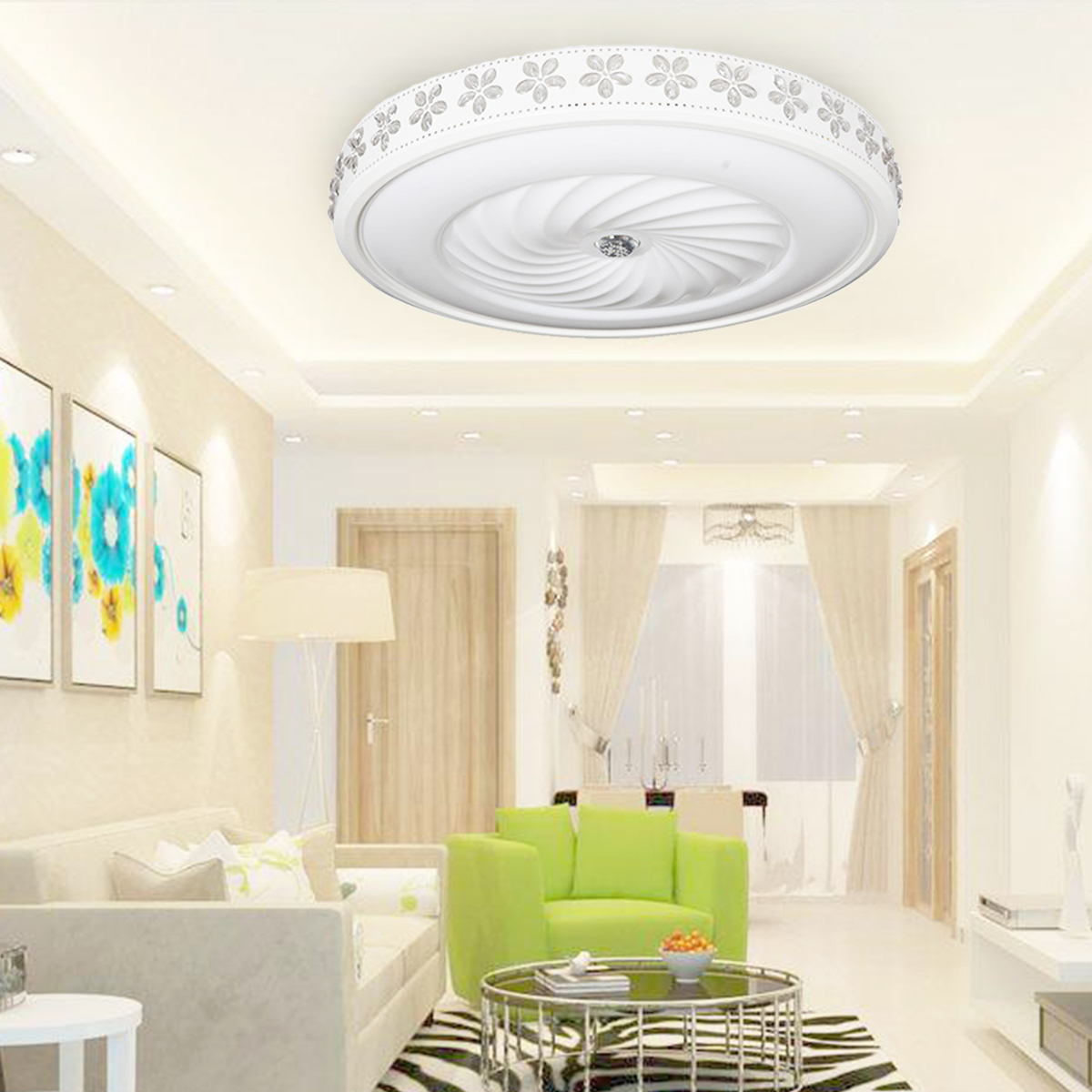 36W Round Shape 52cm Modern Simple LED Ceiling Lamps Led Ceiling Lights for Living Room Decorative Ceiling Light Home Kitchen36W Round Shape 52cm Modern Simple LED Ceiling Lamps Led Ceiling Lights for Living Room Decorative Ceiling Light Home Kitchen