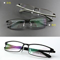Hot sale freeshipping solid men alloy eyeglass frames optical men's designer glasses full-frame optics Large-framed glasses 9132