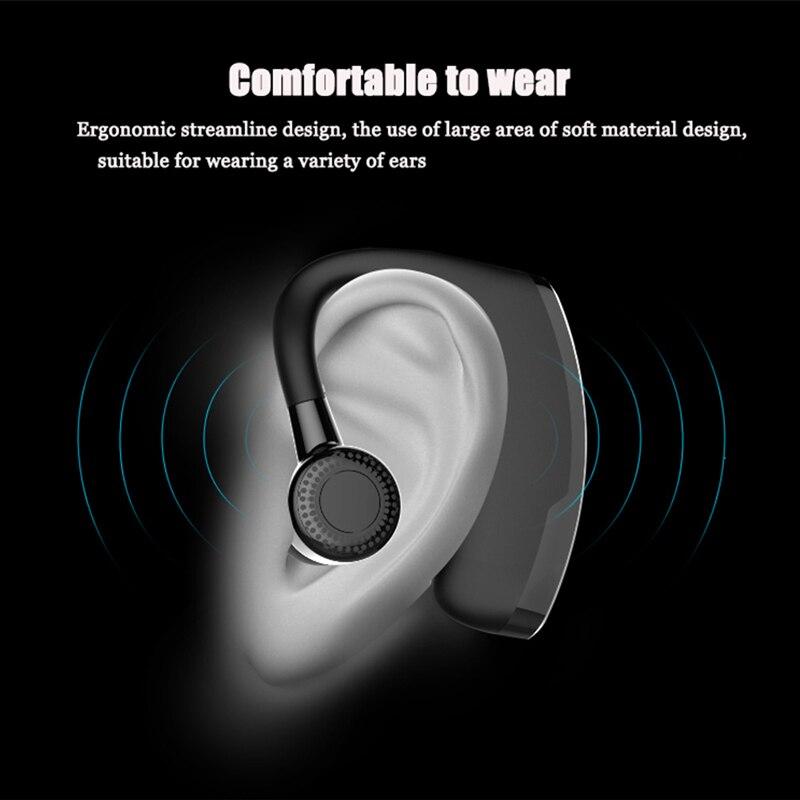 Leegoal V9 Handsfree Wireless Bluetooth Earphones Noise: Afit V9 Wireless Voice Control Music Sports Bluetooth